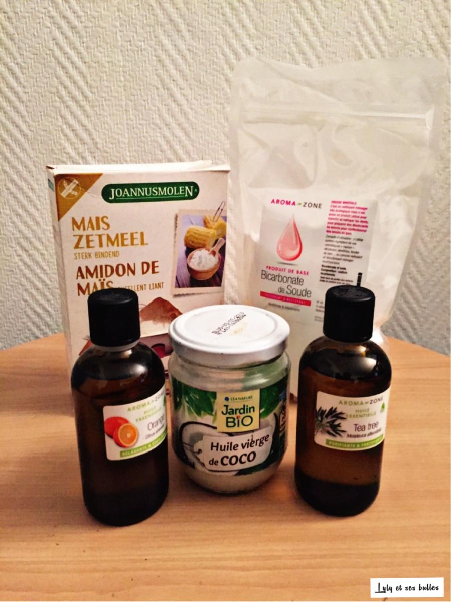 ingrédients déodorant maison_lylyetsesbulles